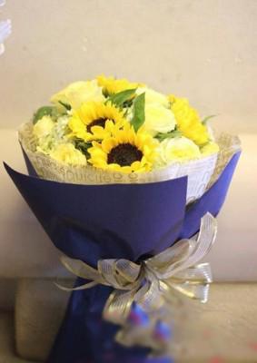 Mẫu Bó hoa hướng dương đẹp, ấn tượng nhất
